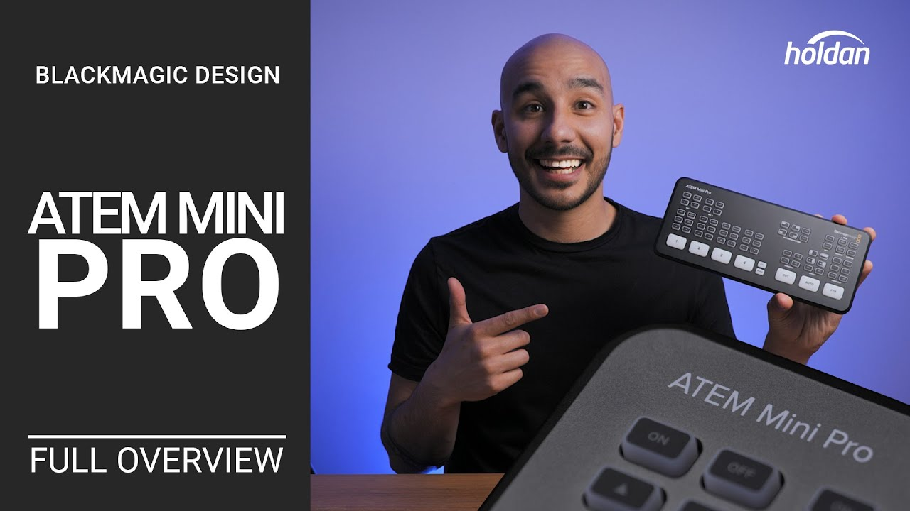 Atem Mini Pro Complete Overview First Look What You Need To Know Blackmagic Design Review Youtube