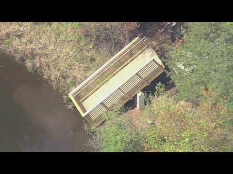 Deck Collapse On Staten Island