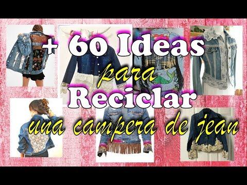 Mas de 60 Ideas para reciclar/personalizar una Campera de Jean