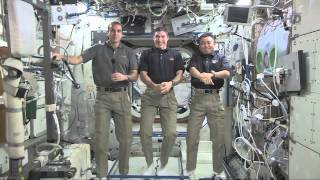 L A  students get glimpse of life in space from Space Station crew