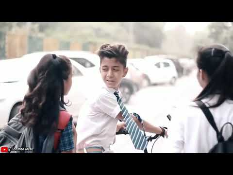 """Heart Touching School Love Story""   Rahul & Amrita   Love Story   Latest Hindi Song 2019 new video"