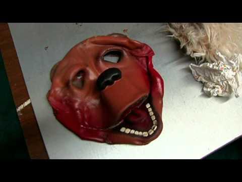 Melted Beach Bear Mask