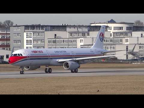 A321 Sharklets China Eastern Airlines Engine Run B-1812