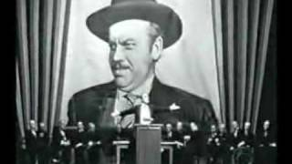 Citizen Kane - Speech
