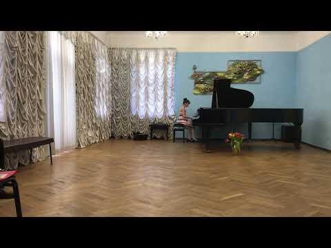 Waltz A. Griboedov, E Minor, Dominika Sliusarenko, 10 Years