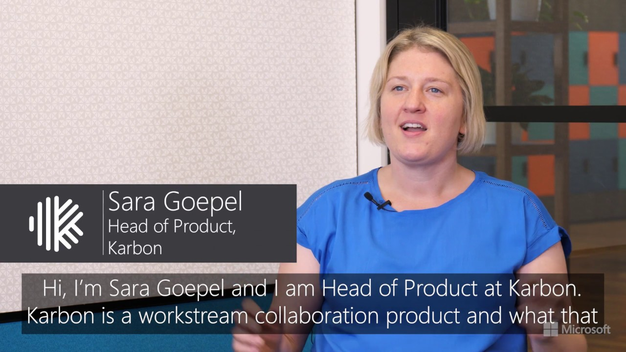 How Microsoft is helping Karbon scale their workstream collaboration  platform with confidence