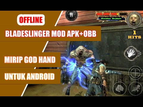 Download Game Bladeslinger Mod Apk+Obb Mirip GOD Hand Offline