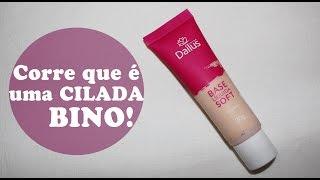 CORRE QUE É UMA CILADA BINO! | Base Liquida Soft - Dailus
