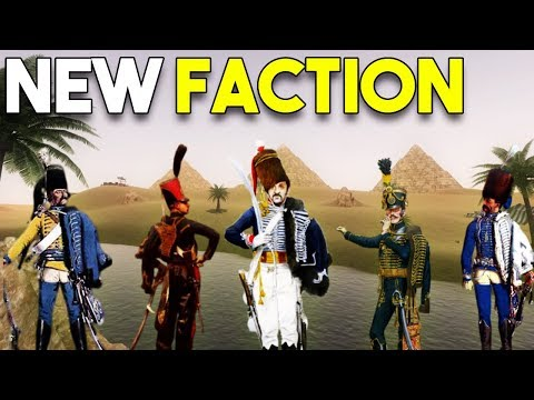 NEW Napoleonic Wars MAP, FACTION, UNITS - Mount and Blade DLC