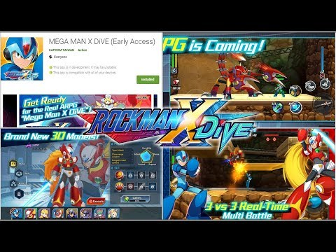 Mega Man X DiVE - Beta Client Up For Pre-Load, JP Voices & New Music  Confirmed, Skins, & X7 Boss!