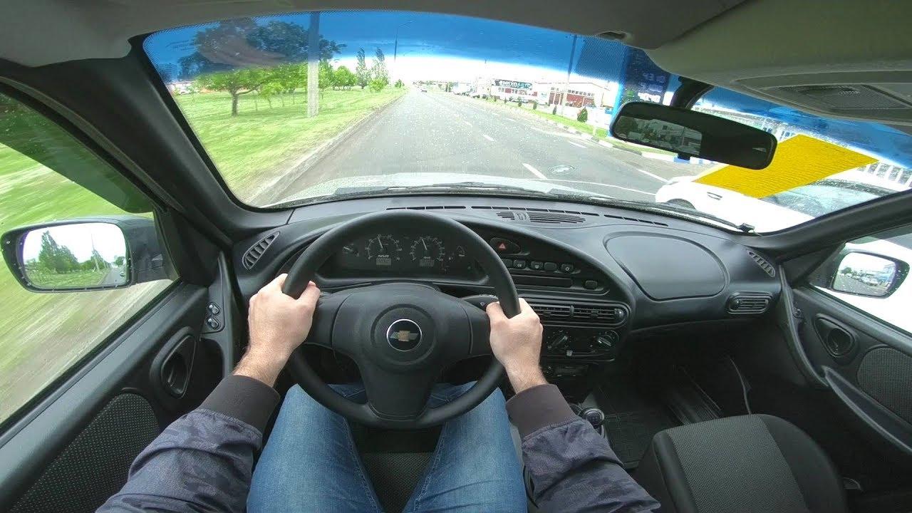 2017 Chevrolet Niva 1.7 (80) POV TEST DRIVE
