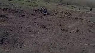 Бой в Донбассе   Реальные кадры