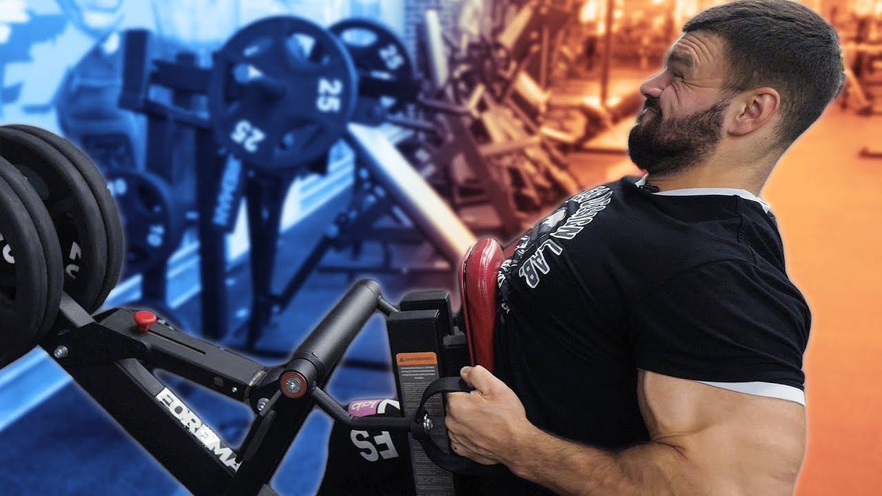 Тренировка спины в натурашку - Александр Щукин