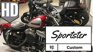 Harley Davidson Sportster Cruiser Project- custom parts and performance