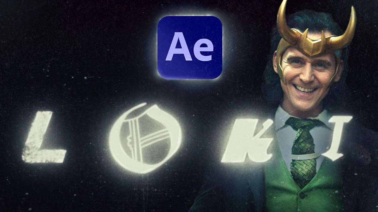 Create the Loki Title Sequence in After Effects   Tutorial