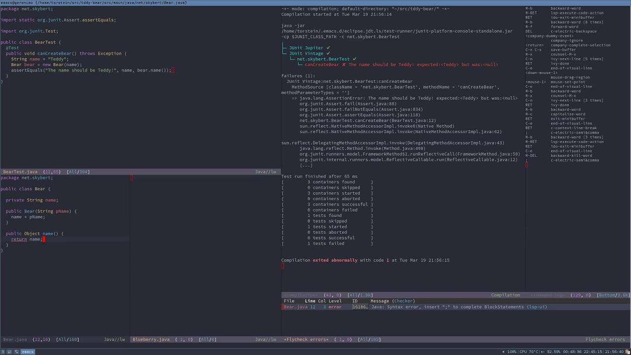 Emacs eclipse
