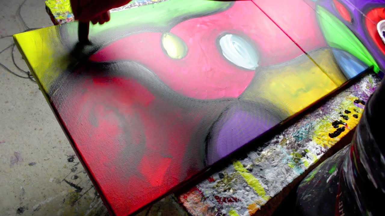 Abstract Art Lessons Free Painting Videos