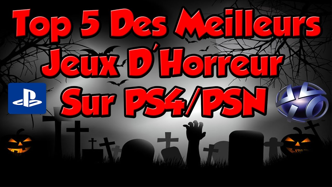 top 5 des meilleurs jeux d 39 horreur sur ps4 psn pas cher youtube. Black Bedroom Furniture Sets. Home Design Ideas