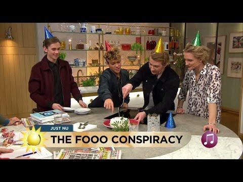 "Vi grattar Oscar ""Ogge"" Molander i The Fooo Conspiracy - Nyhetsmorgon (TV4)"