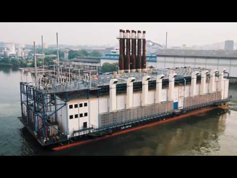 Floating Power Plants | Wärtsilä