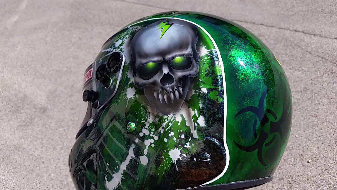 simpson speedway rx airbrush helm broken head design youtube. Black Bedroom Furniture Sets. Home Design Ideas