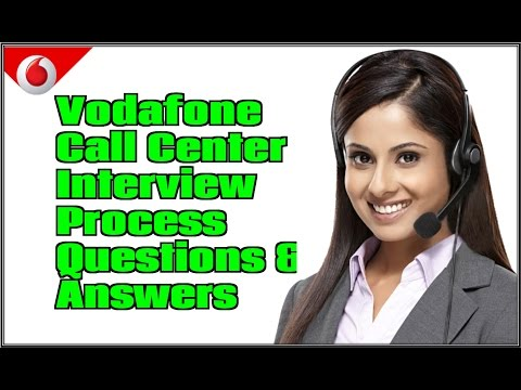 Vodafone call center interview asked questions and answers for freshers