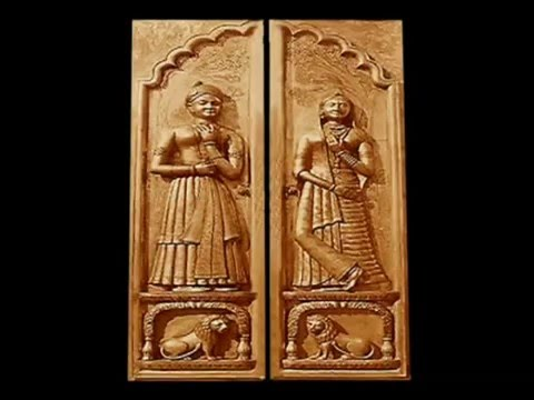 Teak Doors Oversize Front Carving Artistic Youtube