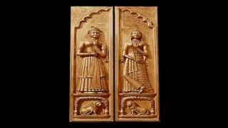 Teak Doors Oversize Front Carving Artistic