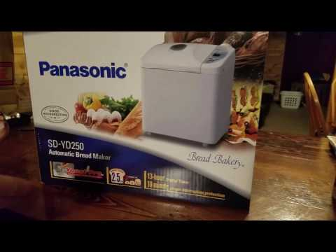 Unboxing: Panasonic SD-YD250 Automatic Bread Maker with Yeast Dispenser