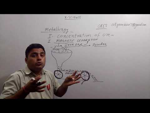 10th metal and non Metal froth flotation,Magnetic separation PART 5 BEST EXPLANATION