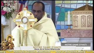 Hour of the Divine Mercy // Heure de la Divine Miséricorde 07.26.2021