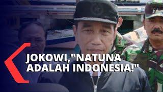 Jokowi Temui Ratusan Nelayan, Tegaskan Natuna Wilayah Indonesia