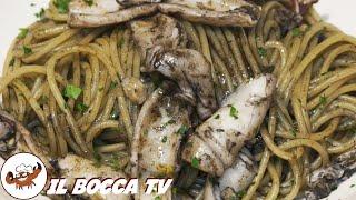 335 - Pasta ai calamari...meglio che alle Baleari! (primo piatto a base di pesce gustoso e semplice)