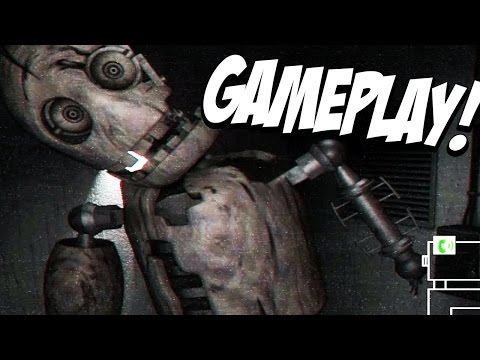 Five Nights at Candy's 2 Gameplay Trailer REACTION! || NEW GAMEPLAY And JUMPSCARE!