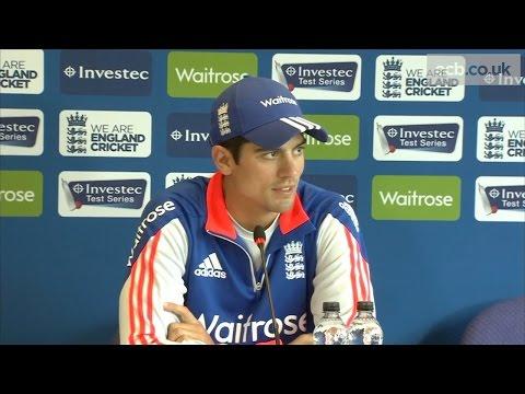 Alastair Cook press conference - England v New Zealand, Headingley Test