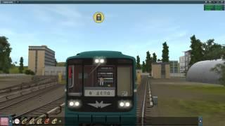 Соремовский Метрополитен в Trainz 2012