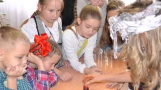 Ребята гимназии российской культуры на фестивале Науки.