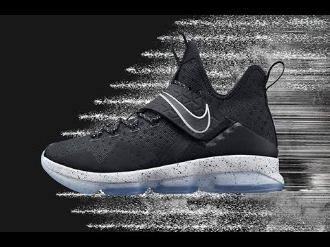 outlet store 46751 2afa8 The Nike LeBron 14 Black Ice (Chase Down) Remembers An Iconic Moment