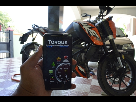 How to connect a smartphone to a KTM Duke or RC|INDIA