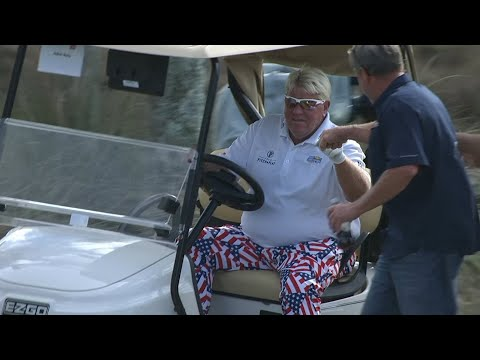 John Daly's holeinone at Chubb Classic