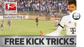 Top 10 Free Kick Tricks