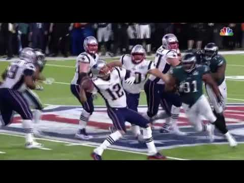 THE LAST PLAY OF SUPER BOWL 52 PLAYED TO TITANIC MUSIC