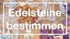Edelsteine bestimmen - Untersuchungen mit gemmologischen Geräten