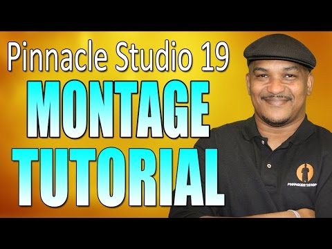Pinnacle Studio 19 Ultimate - Slideshow / Montage Tutorial