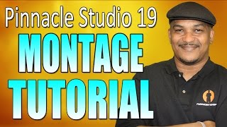 Pinnacle Studio 19 Ultimate - Slideshow / Montage Tutorial thumbnail