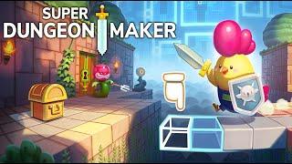 SERIA UM ZELDA MAKER? Super Dungeon Maker - Creator Edition (Gameplay em Português PT-BR)