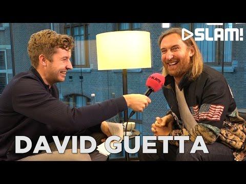 David Guetta in de studio met Boaz, Martin Garrix & Cesqeaux! | SLAM!
