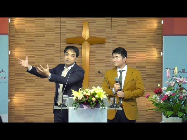 2019/11/17 涙の種、喜びの実  눈물의 씨앗 기쁨의 열매(詩篇126:1-6)