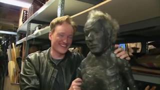 Conan O'Brien visits the Universal Studios Prop Warehouse (2009)