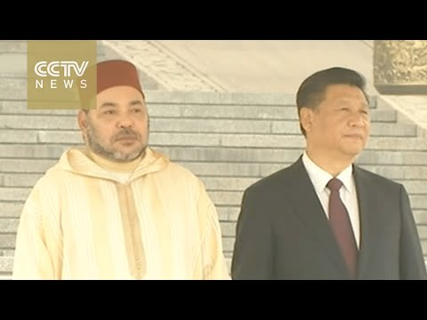 President Xi Jinping meets King Mohammed VI of Morocco in Beijing